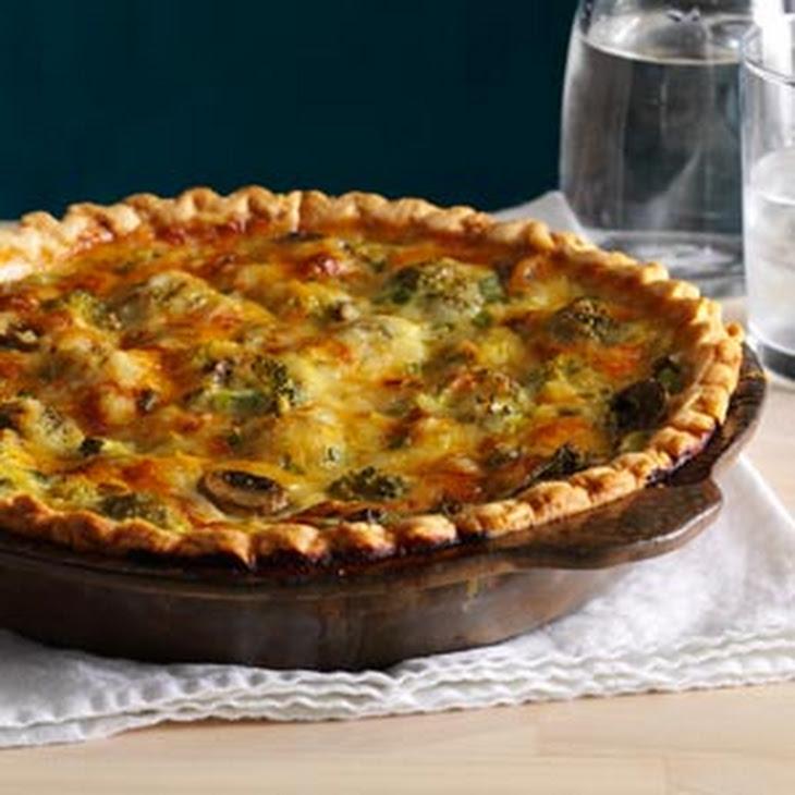 Broccoli, Mushroom, And Gouda Quiche Recipes — Dishmaps