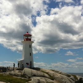 Peggy's Cove Lighthouse by Katrina Olafson - Instagram & Mobile iPhone
