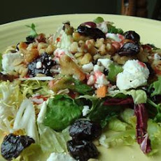 California Cherry and Walnut Salad