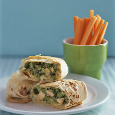 Chicken-and-Broccoli Pockets