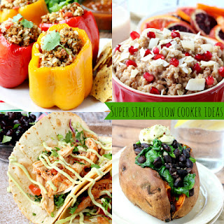 Super Simple Slow Cooker Meal Ideas