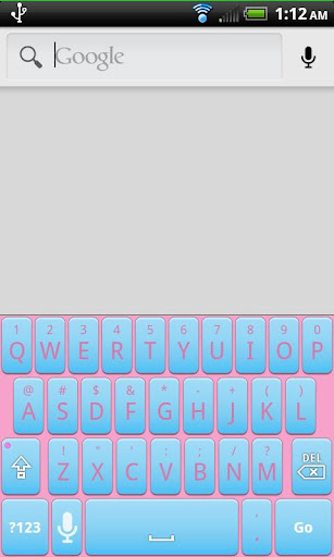 Cotton Candy Keyboard Skin