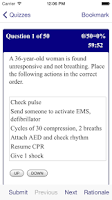 Screenshot of ACLS MegaCodes AHA Review