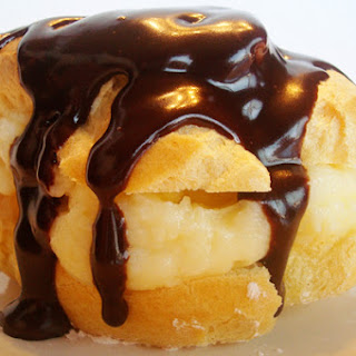 Heart Shaped Cream Puffs