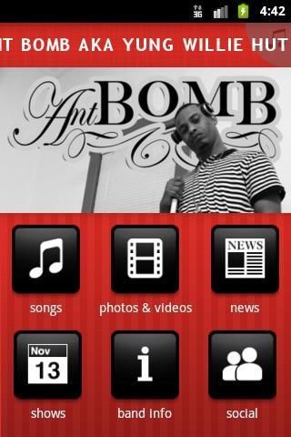 【免費音樂App】ANT BOMB AKA YUNG WILLIE HUTCH-APP點子