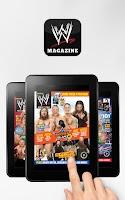 Screenshot of WWE Magazine