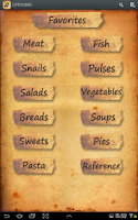 Screenshot of Cretan Recipes EN