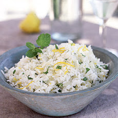 Lemon Mint Rice