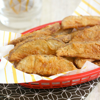 Copycat KFC Crispy Potato Wedges
