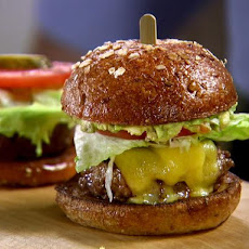 Zesty Garlic Guacamole Burger