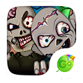Zombies GO Keyboard Theme APK Descargar