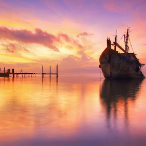 A Calm Moment by Saya Serin - Landscapes Sunsets & Sunrises (  )