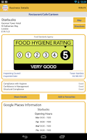 Screenshot of Food Hygiene ScoresOnTheDoors