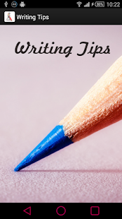 Writing Tips - screenshot