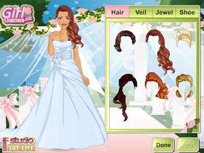 Game fashion studio wedding dress apk for windows phone for Design your own wedding dress app