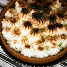 Coriander Key Lime Meringue Pie