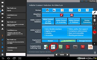 Screenshot of Adobe Connect