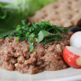 Kibbeh Naye with Lamb Heart