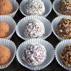 Almond Fudge Truffles