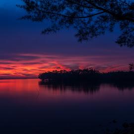 The Twilight's Twilight by Eric Tai - Landscapes Sunsets & Sunrises ( waterscape, blue hour, sunset, twilight, sea, long exposure, longexposure,  )