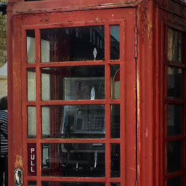Old English Phone Booth by Jeffry Heuveling - Instagram & Mobile Android