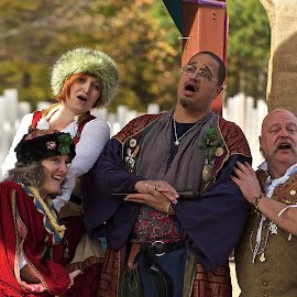 RenFest Singers by Roy Walter - People Musicians & Entertainers ( musicians, renfest, singers, entertainers, costume, fun, people )