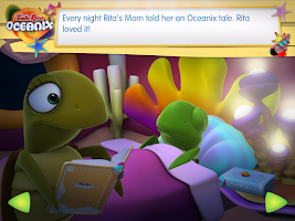 Screenshot of Oceanix. Cuentos en Inglés 1