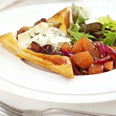 Melting Goat's Cheese & Chutney Tarts