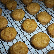 Lemon-Pumpkin Mini Muffins