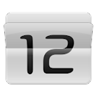 Animating Flip Clock Widget icon