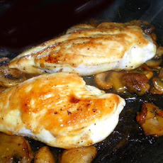 Mushroom Chicken With Honey Mustard
