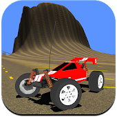 RC Car Hill Racing Simulator Icon