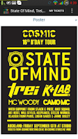Screenshot of Cosmic Ticketing