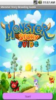 Screenshot of Breeding Guide Monster Story