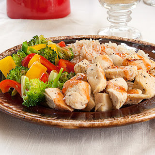 Jamie Eason's Simple Sweet And Sour Chicken