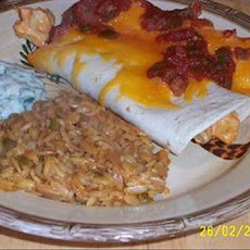 Easy Cheesy Chicken Enchiladas With Yogurt Sauce