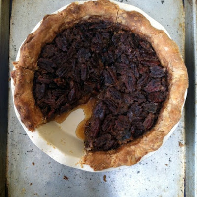 Sticky Spiced Pecan Pie