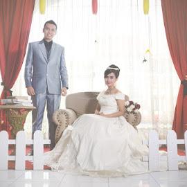 kiki & roro by Raja Nasution - Wedding Bride & Groom ( love, prewedding, wedding, bride, groom, couples )