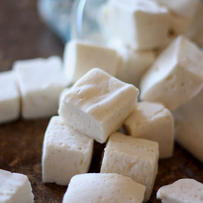 Springy, Fluffy Homemade Marshmallows - Corn Syrup Free