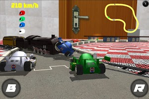 Screenshot of Toy Nascar Race Free