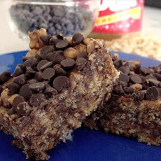 Chocolate Peanut Butter Rice Krispies Treats