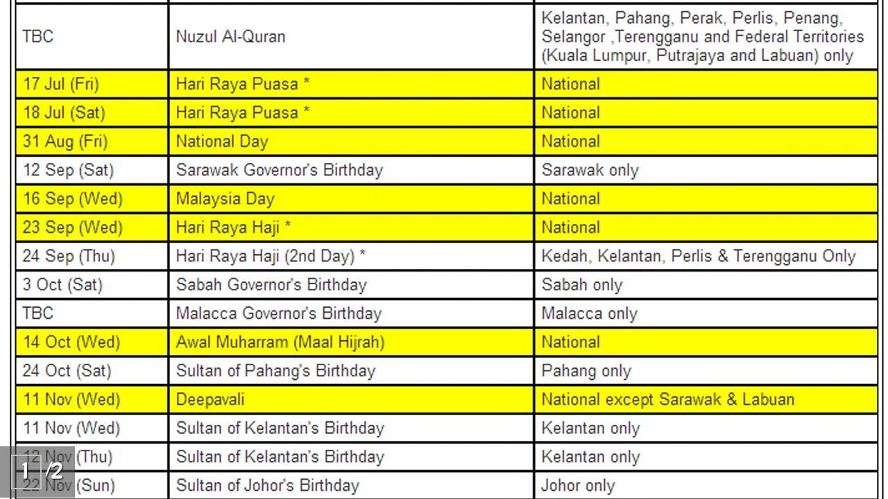 Download Kalendar 2017 - Malaysia (HD) for PC - choilieng.com