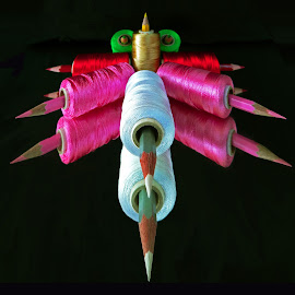 The Colourfull missiles by Asif Bora - Artistic Objects Other Objects