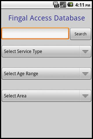 Fingal Access Database
