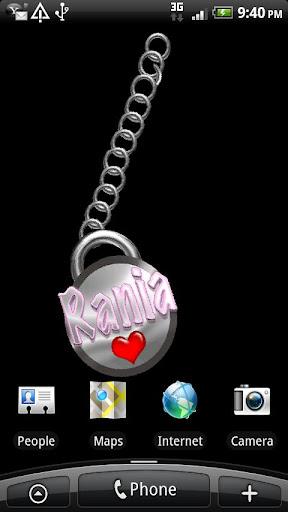 Rania Name Tag