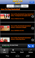 Screenshot of Basketball Top 10s videos