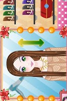 Screenshot of Hairdresser Games.