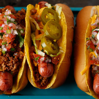 Nolan Ryan's Tex-Mex Taco Dog