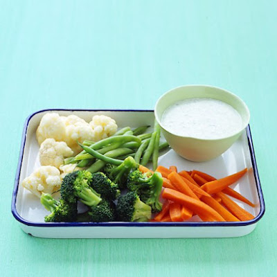 Cool Herb Dip for Blanched Vegetables