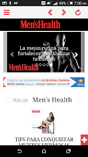 Men's Health Latam Móvil - screenshot